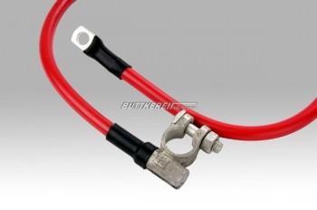Batterie - Halterung - Kabel
