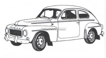 Ventildeckeldichtung Gummi Volvo 444 544 Buckel Motor B16 Oldtimer