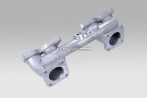Ansaugrohr B18/20  2 x SU HS6 / Aluminium