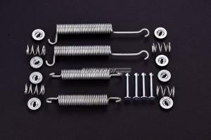 Montagesatz Bremsbacken 1-Kreis