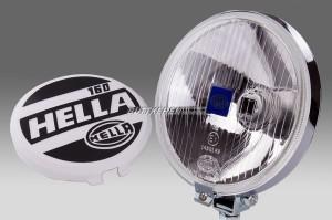 Zusatzscheinwerfer Chrom 160mm Fern HELLA
