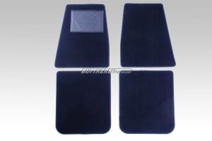 Fußmattensatz PV544/Duett schwarz