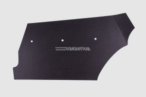 Pappe Kofferraum AZ schwarz links