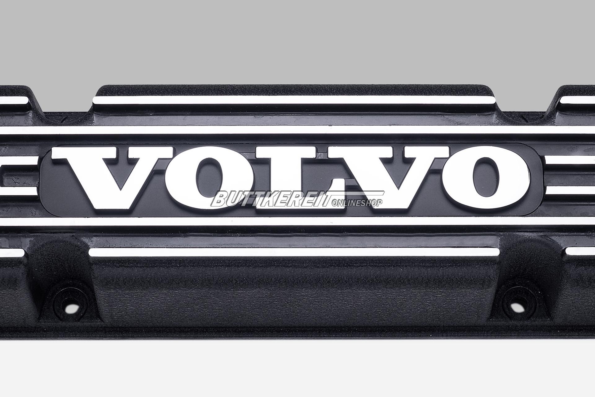 Ventildeckel B18/20 ALU schwarz mit VOLVO-Emblem