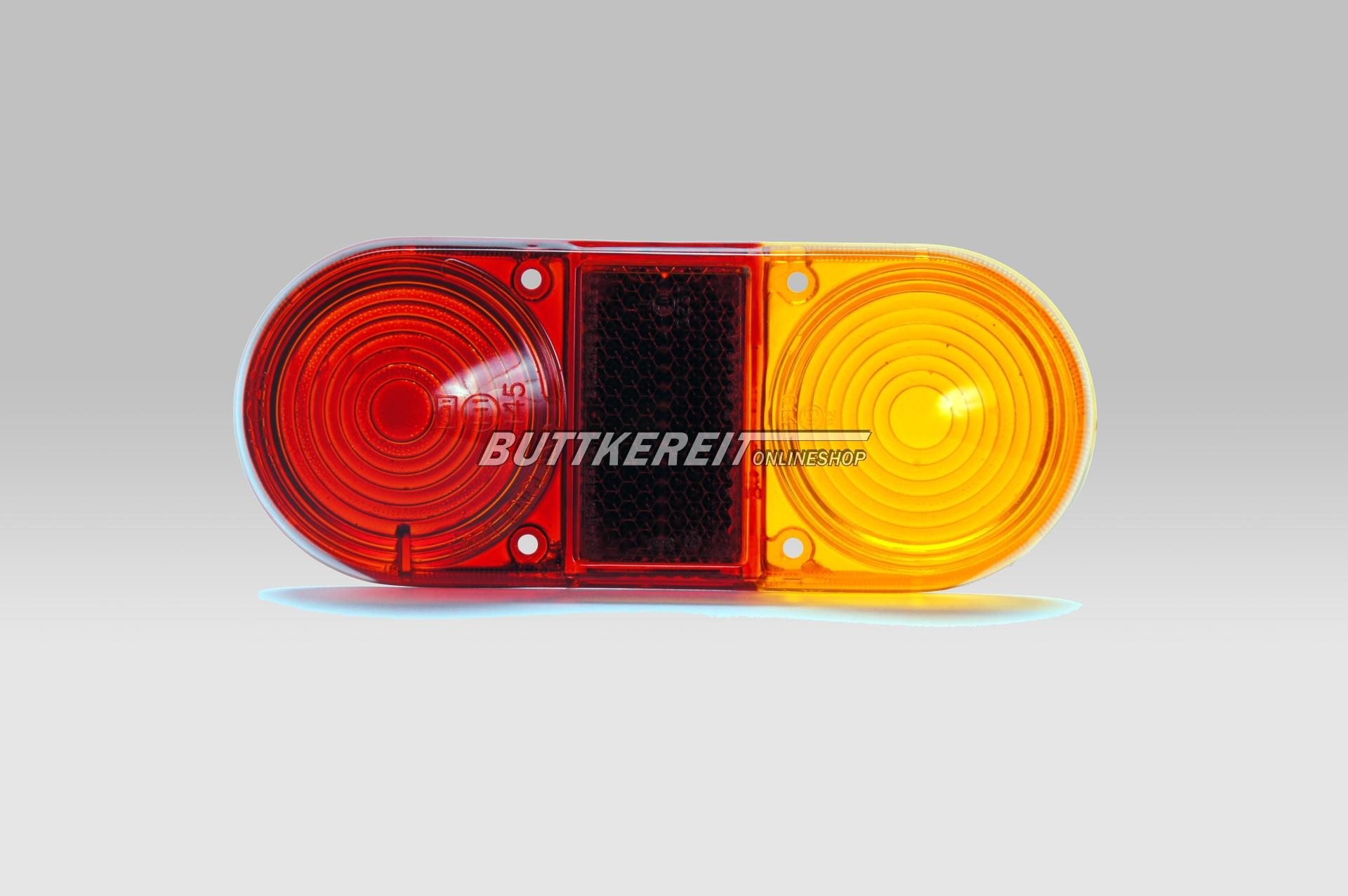 Rücklichtglas 1800 S/E orange-rot