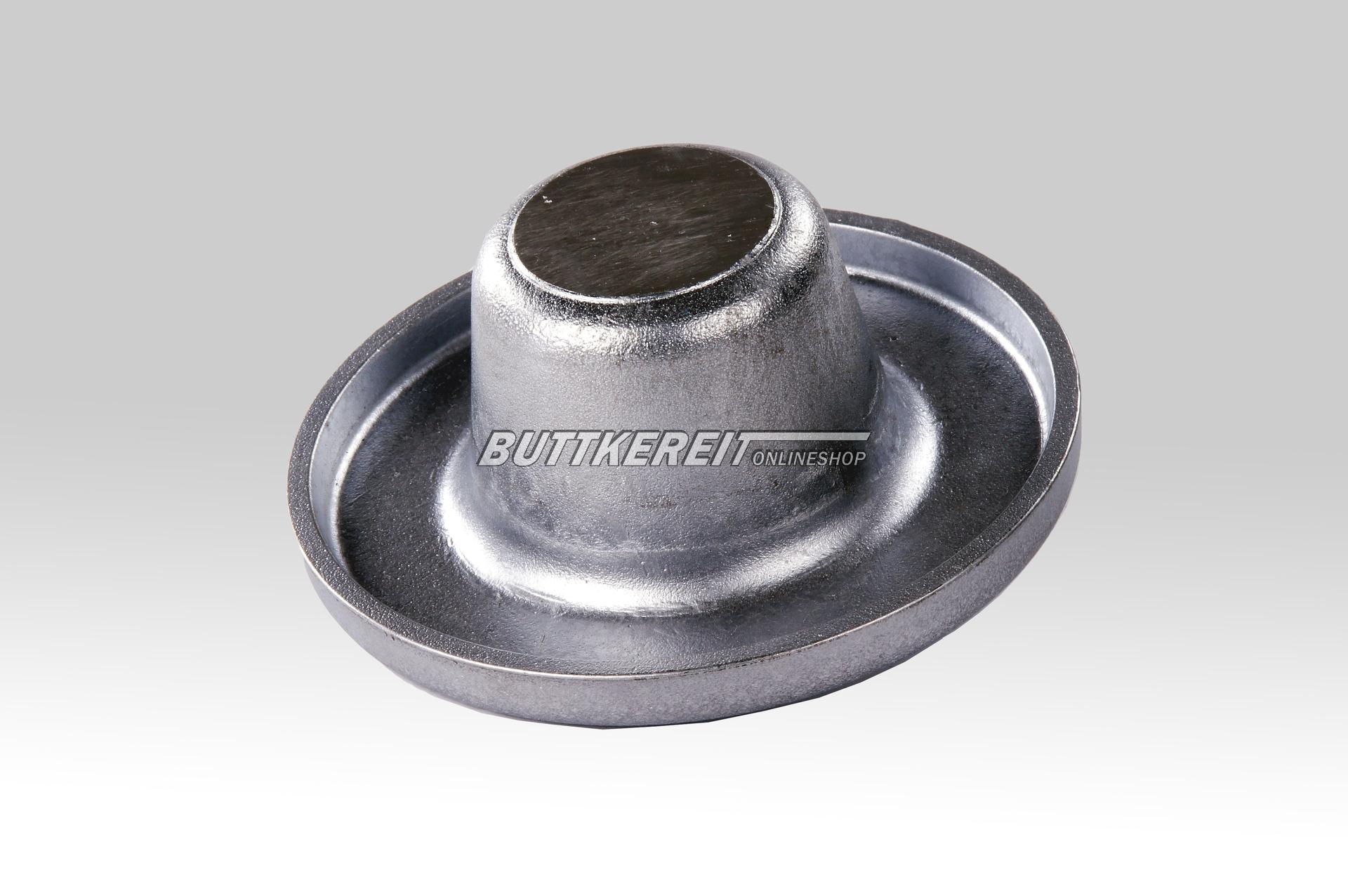 Federteller AZ/1800 unten / Aluminium