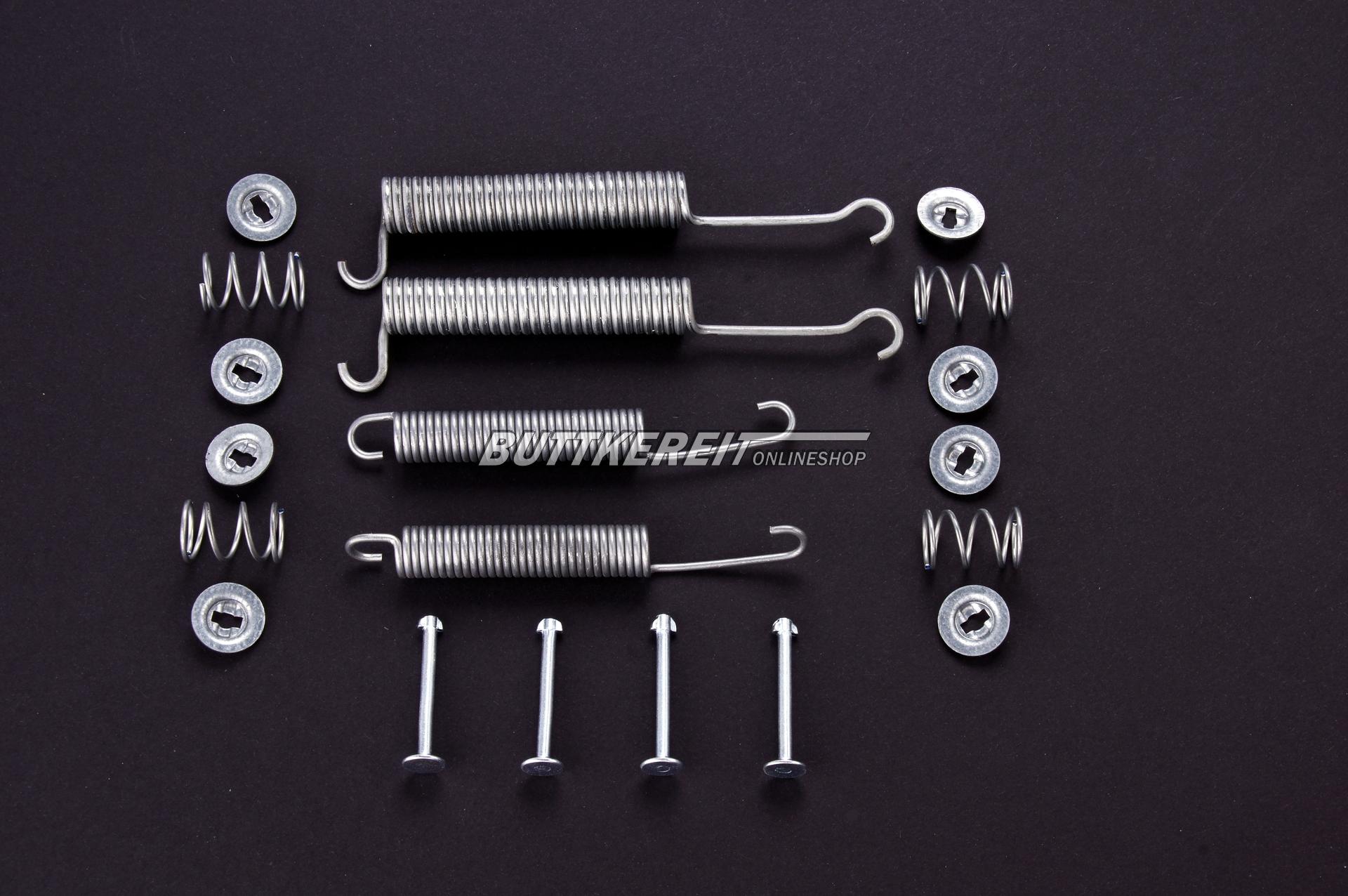Montagesatz Bremsbacken 2-Kreis